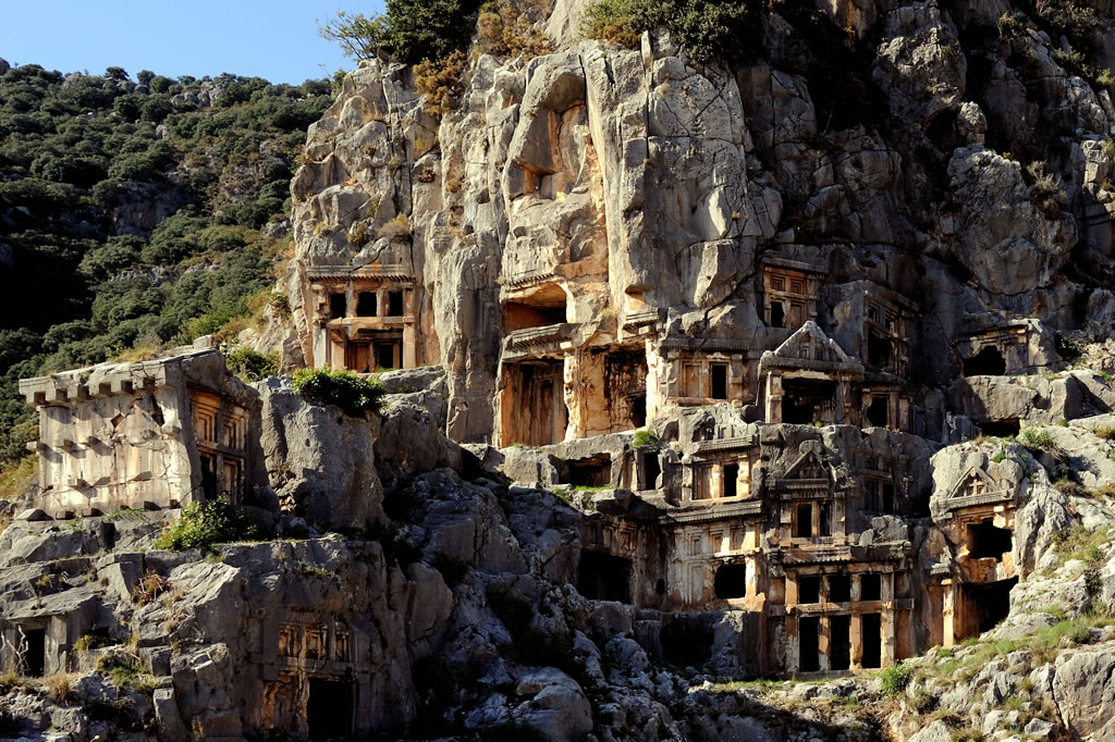 The ancient city of Myra