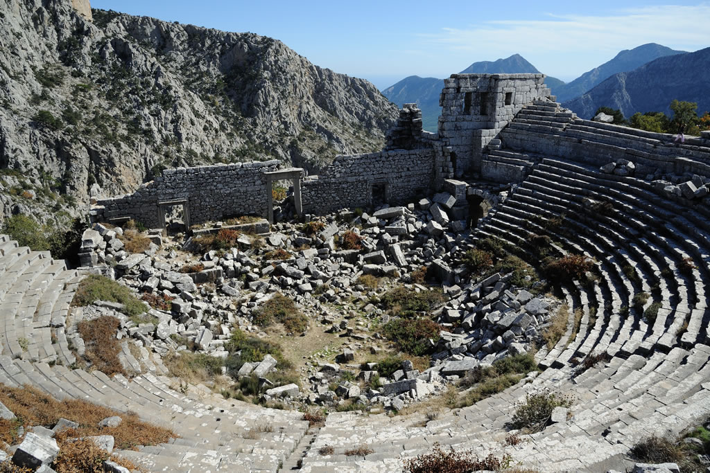 Thermessos ancient amphitheater / Antalya